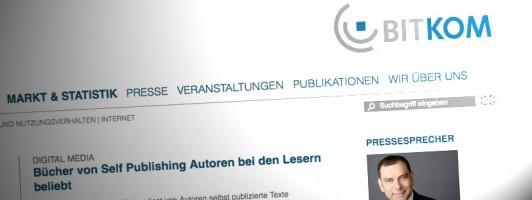 BITKOM: Wie bekannt ist Self-Publishing?