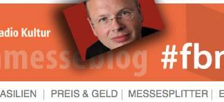 Wolfgang Tischer bloggt für Deutschlandradio Kultur von der Buchmesse