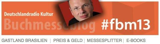 Deutschlandradio Kultur Buchmesseblog