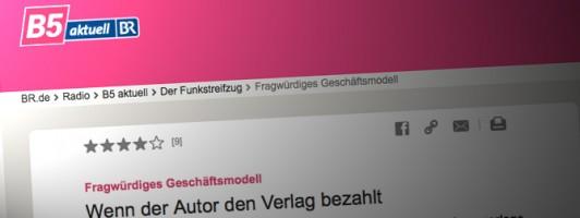 BR5 über Zuschussverlage (Screenshot)