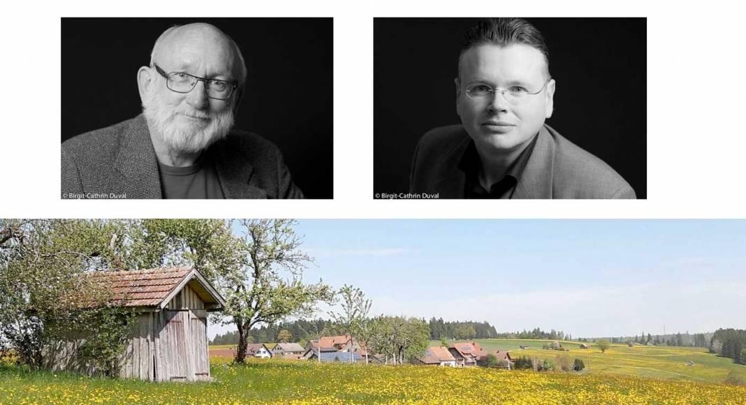 Malte Bremer und Wolfgang Tischer leiten des Schreibseminar in Igelsberg (SW-Fotos: Birgit-Cathrin Duval)