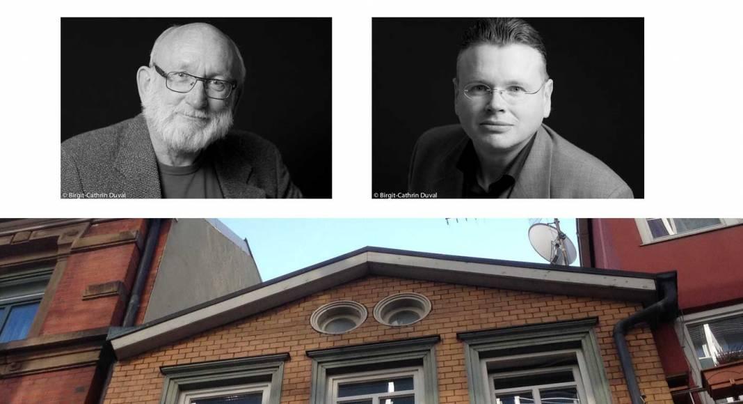 Malte Bremer und Wolfgang Tischer leiten des Schreibseminar im Stuttgarter Schriftstellerhaus (SW-Fotos: Birgit-Cathrin Duval)