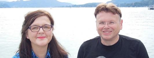 Doris Brockmann und Wolfgang Tischer am Wörthersee