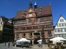 Brückern liest Hyperion: Das Tübinger Rathaus