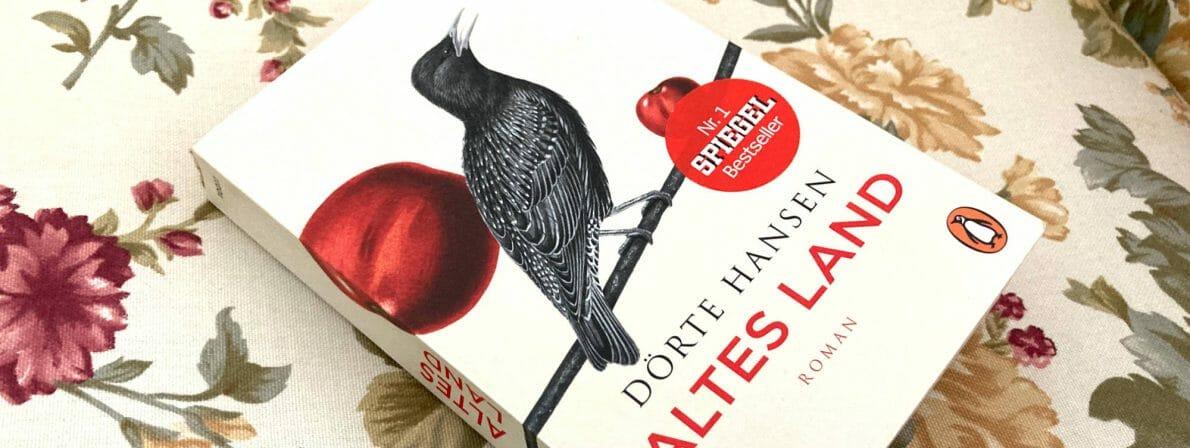 Das Taschenbuch »Altes Land« von Dörte Hansen. Der Roman erschien 2015.
