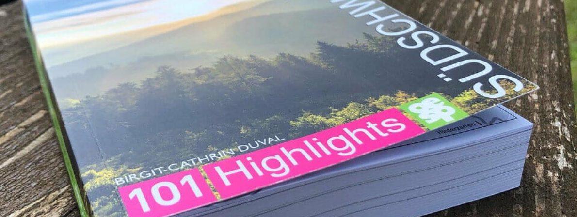 Das Buch »Gipfeltouren Südschwarzwald« (Foto: Birgit-Cathrin Duval)