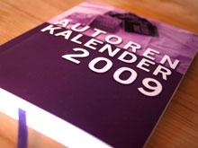 AUTORENKALENDER 2009