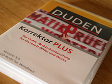 Duden Korrektor PLUS Version 5.0