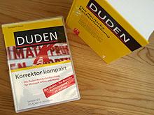 Liegt bis 31.12.2009 dem Duden bei: Der Duden Korrektor 6.0 kompakt