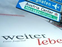 weiter leben im Messezentrum Wien