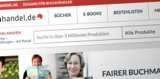 Screenshot: Buchhandel.de