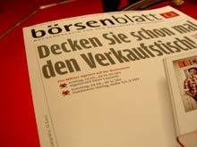 Aktuelle Ausgabe des Börsenblatts