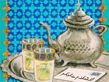 Mit arabischen Grüßen