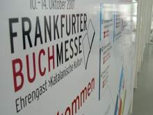Willkommen auf der Frankfurter Buchmesse
