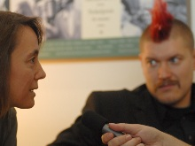 Kathrin Passig und Sascha Lobo im Interview