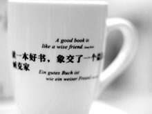 A good book is like a wise friend (Foto: Birgit-Cathrin Duval)