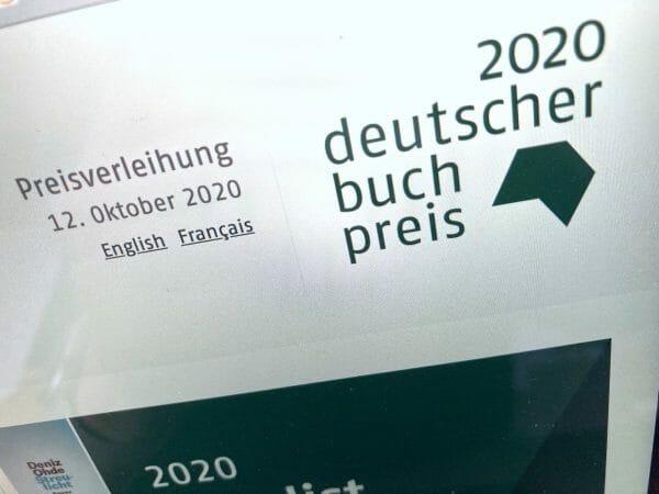 Die Longlist zum Deutschen Buchpreis 2020