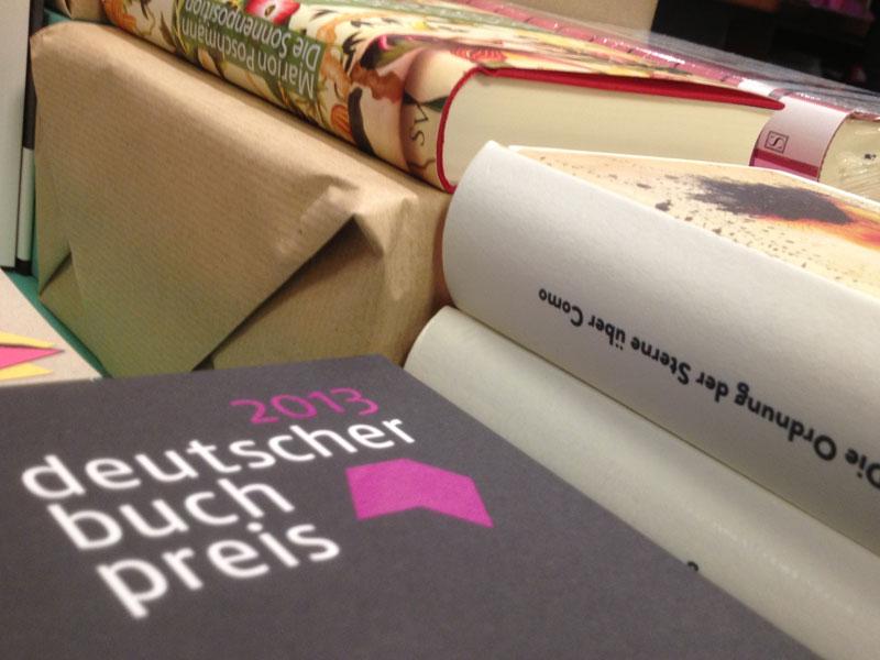 Deutscher Buchpreis 2013: Kurzer Blick auf die 6 der Shortlist