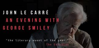 John le Carré liest am 17. September 2017 in der Londoner Royal Festival Hall (Foto: Nadav Kandar)