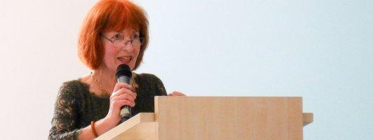 Die Medienwissenschaftlerin Christina Schachtner auf der Narrativa (Foto: Tischer)