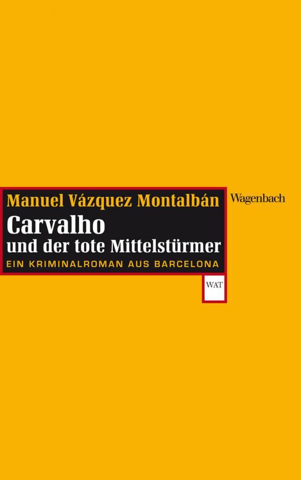 Krimi: Wolfgang Tischer liest Manuel Vázquez Montalbán auf den Stuttgarter Buchwochen