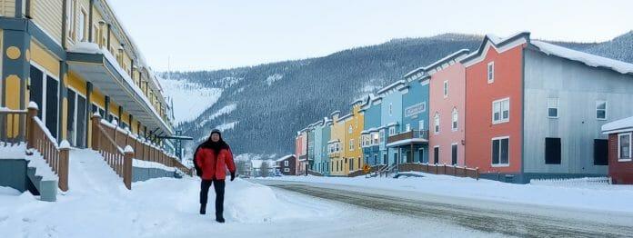 literaturcafe.de-Herausgeber Wolfgang Tischer ist bei -30 Grad selbst in den Yukon gereist