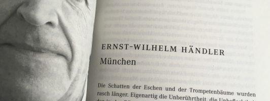 Ernst Wilhelm Händler: München