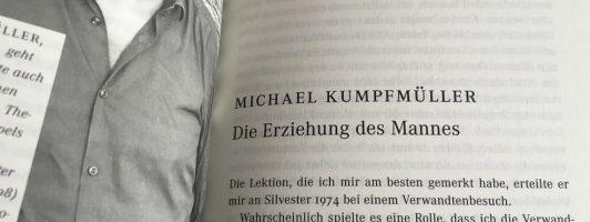 Michael Kumpfmüller: Die Erziehung des Mannes