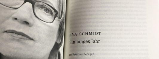 Eva Schmidt: Ein langes Jahr