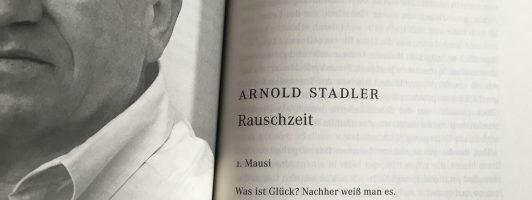 Arnold Stadler: Rauschzeit