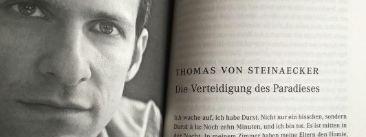 Thomas von Steinaecker: Die Verteidigung des Paradieses
