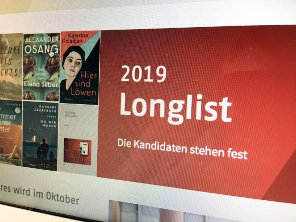 Maltes Meinung: Die Longlist zum Deutschen Buchpreis 2019 (1/5) 4