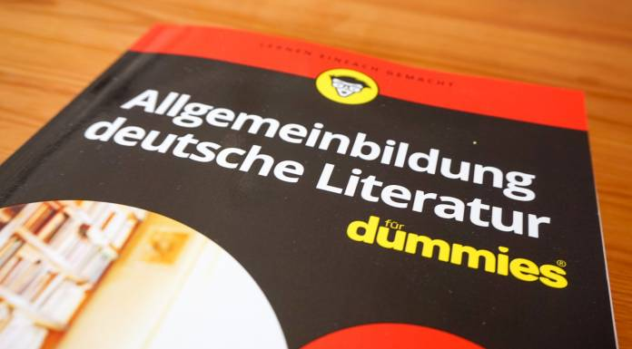 Das literaturcafe.de gehört zur literarischen Allgemeinbildung