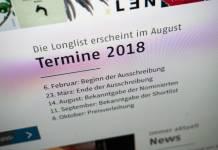 Maltes Meinung: Die Longlist zum Deutschen Buchpreis 2018 (3/5)