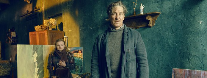 Tobias Moretti als Maler Max Ludwig Nansen (mit Sonja Richter/Foto: Wild Bunch/Georges Pauly)