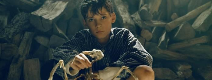 Viele tote Tiere im Film: Levi Eisenblätter als junger Siggi Jepsen (Foto: Wild Bunch/Georges Pauly)