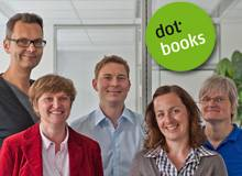 Das Team des dotbooks Verlags (Foto © Peter von Felbert)