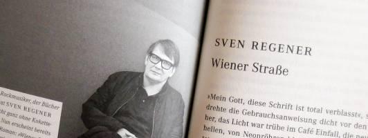 Sven Regener: Wiener Straße