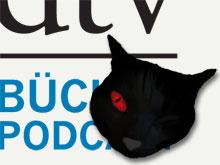 Die schwarze Katze im Bücher-Podcast des dtv