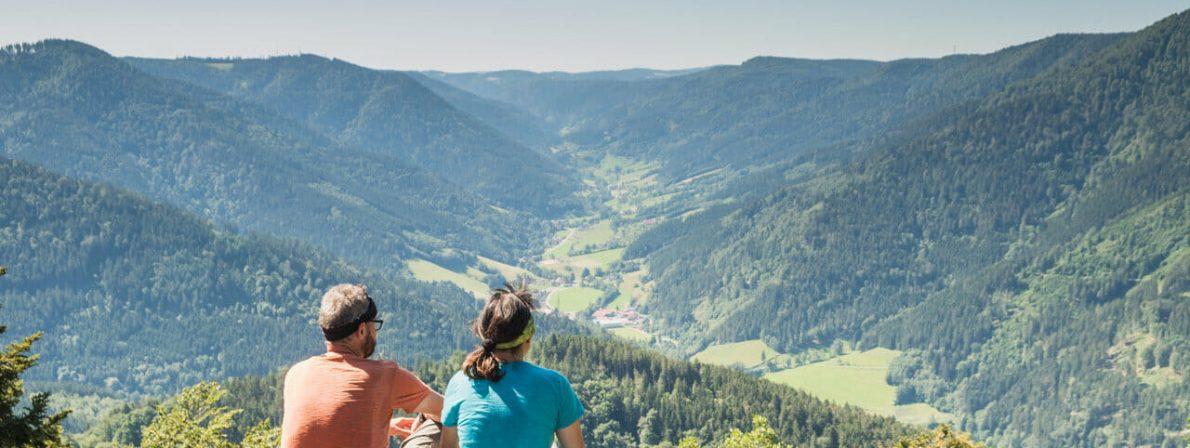 Blick vom Höllkopf ins Simonswälder Tal (Foto: Birgit-Cathrin Duval)