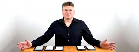 Wolfgang Tischer gint Tipps, welcher E-Reader für Sie der richtige ist