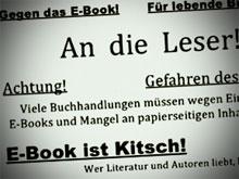 E-Book ist kitsch!