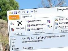 E-Mail Hilferuf aus Spanien