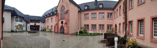 Der Erbacher Hof in Mainz. Hier findet das E-Book-Seminar statt.