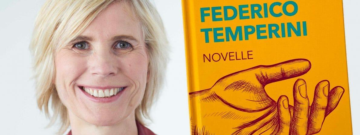 Theres Essmann liest aus ihrer Novelle »Federico Temperini«