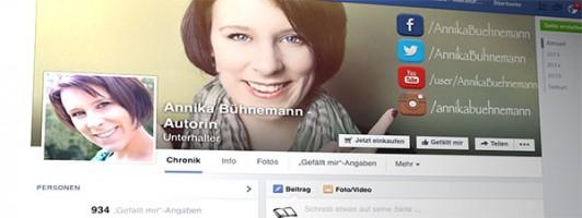 Facebookseite von Annika Bühnemann