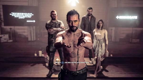 Far Cry 5 mit Buch: »Vergebung« für ein Videospiel