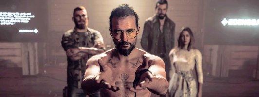Würden Sie mit diesem Mann die Bibel lesen? Screenshot aus Far Cry 5.