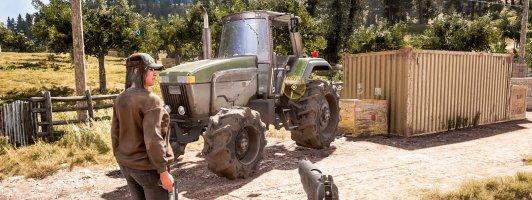 In Far Cry 5 lassen sich Waffenschwestern und -brüder akquirieren und landwirtschaftliche Fahrzeuge steuern.