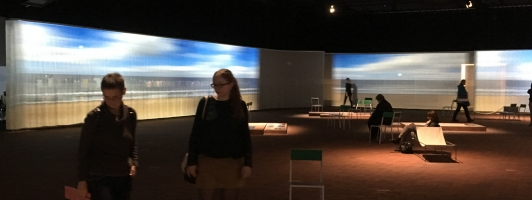 Gastpavillon Flandern & Niederlande auf der Frankfurter Buchmesse 2016